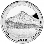 2010 America The Beautiful Quarters Coin Mount Hood Oregon Proof Reverse