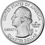 2010 America The Beautiful Quarters Coin Uncirculated Obverse D