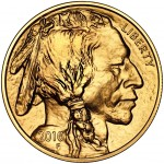 2010 American Buffalo Gold One Ounce Bullion Coin Obverse