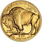 2010 American Buffalo Gold One Ounce Bullion Coin Reverse