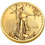 2010 American Eagle Gold Half Ounce Bullion Coin Obverse