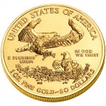 2010 American Eagle Gold One Ounce Bullion Coin Reverse