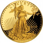 2010 American Eagle Gold One Ounce Proof Coin Obverse