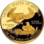 2010 American Eagle Gold One Ounce Proof Coin Reverse