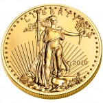 2010 American Eagle Gold Quarter Ounce Bullion Coin Obverse