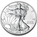 2010 American Eagle Silver One Ounce Bullion Coin Obverse