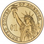 2010 Presidential Dollar Coin Uncirculated Reverse