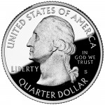 2011 America The Beautiful Quarters Coin Proof Obverse S
