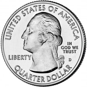 2011 America The Beautiful Quarters Coin Uncirculated Obverse D