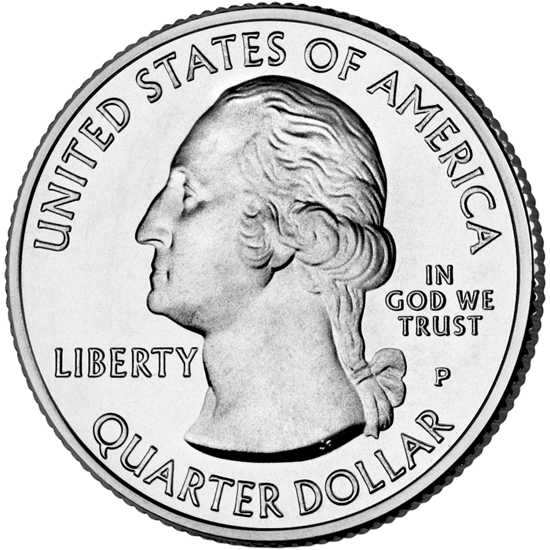 2011 America The Beautiful Quarters Coin Uncirculated Obverse P