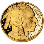2011 American Buffalo One Ounce Gold Proof Coin Obverse