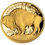 2011 American Buffalo One Ounce Gold Proof Coin Reverse