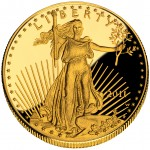 2011 American Eagle Gold One Ounce Proof Coin Obverse