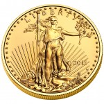 2011 American Eagle Gold One Ounce Uncirculated Coin Obverse