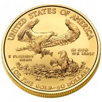 2011 American Eagle Gold One Ounce Uncirculated Coin Reverse
