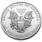 2011 American Eagle Silver One Ounce Bullion Coin Reverse