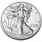 2011 American Eagle Silver One Ounce Uncirculated Coin Obverse
