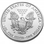 2011 American Eagle Silver One Ounce Uncirculated Coin Reverse
