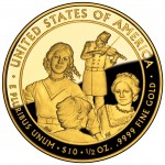 2011 First Spouse Gold Coin Eliza Johnson Proof Reverse