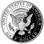 2011 Kennedy Half Dollar Proof Reverse