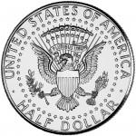 2011 Kennedy Half Dollar Uncirculated Reverse