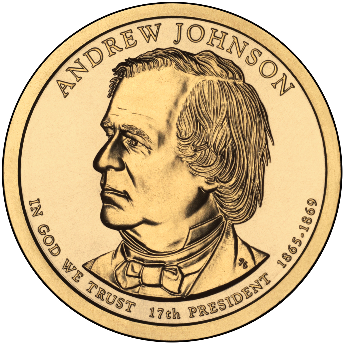 Andrew Johnson Coin