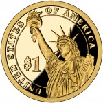 2011 Presidential Dollar Coin Proof Reverse