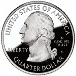 2012 America The Beautiful Quarters Coin Proof Obverse S