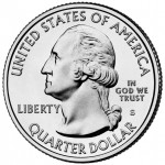 2012 America The Beautiful Quarters Coin Uncirculated Obverse S