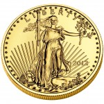 2012 American Eagle Gold Half Ounce Bullion Coin Obverse