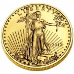 2012 American Eagle Gold One Ounce Bullion Coin Obverse