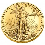 2012 American Eagle Gold One Ounce Uncirculated Coin Obverse
