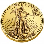 2012 American Eagle Gold Quarter Ounce Bullion Coin Obverse
