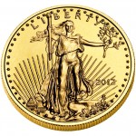 2012 American Eagle Gold Tenth Ounce Bullion Coin Obverse