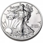 2012 American Eagle Silver One Ounce Bullion Coin Obverse