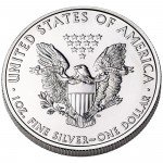 2012 American Eagle Silver One Ounce Bullion Coin Reverse