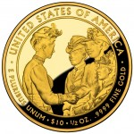 2012 First Spouse Gold Coin Frances Cleveland First Term Proof Reverse