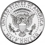 2012 Kennedy Half Dollar Uncirculated Reverse