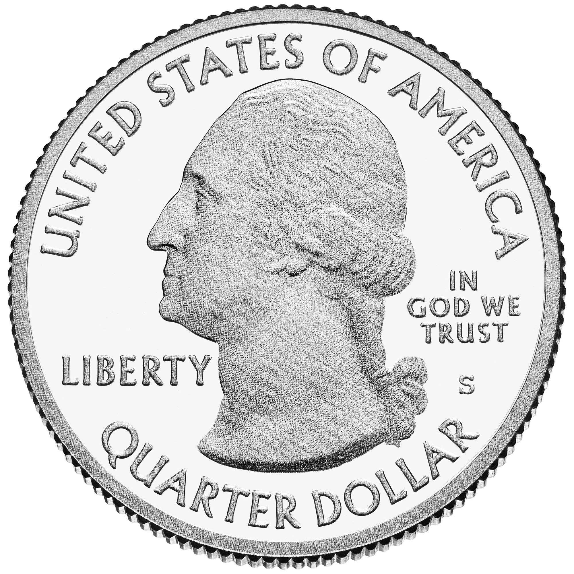 2013 America The Beautiful Quarters Coin Proof Obverse S