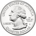 2013 America The Beautiful Quarters Coin Uncirculated Obverse D