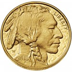 2013 American Buffalo One Ounce Gold Proof Coin Obverse