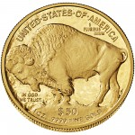 2013 American Buffalo One Ounce Gold Proof Coin Reverse