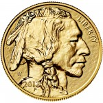 2013 American Buffalo One Ounce Gold Reverse Proof Coin Obverse