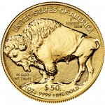2013 American Buffalo One Ounce Gold Reverse Proof Coin Reverse