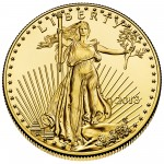 2013 American Eagle Gold One Ounce Bullion Coin Obverse