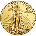 2013 American Eagle Gold One Ounce Uncirculated Coin Obverse