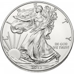 2013 American Eagle Silver One Ounce Bullion Coin Obverse