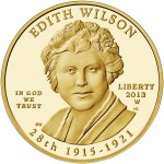 2013 First Spouse Gold Coin Edith Wilson Proof Obverse