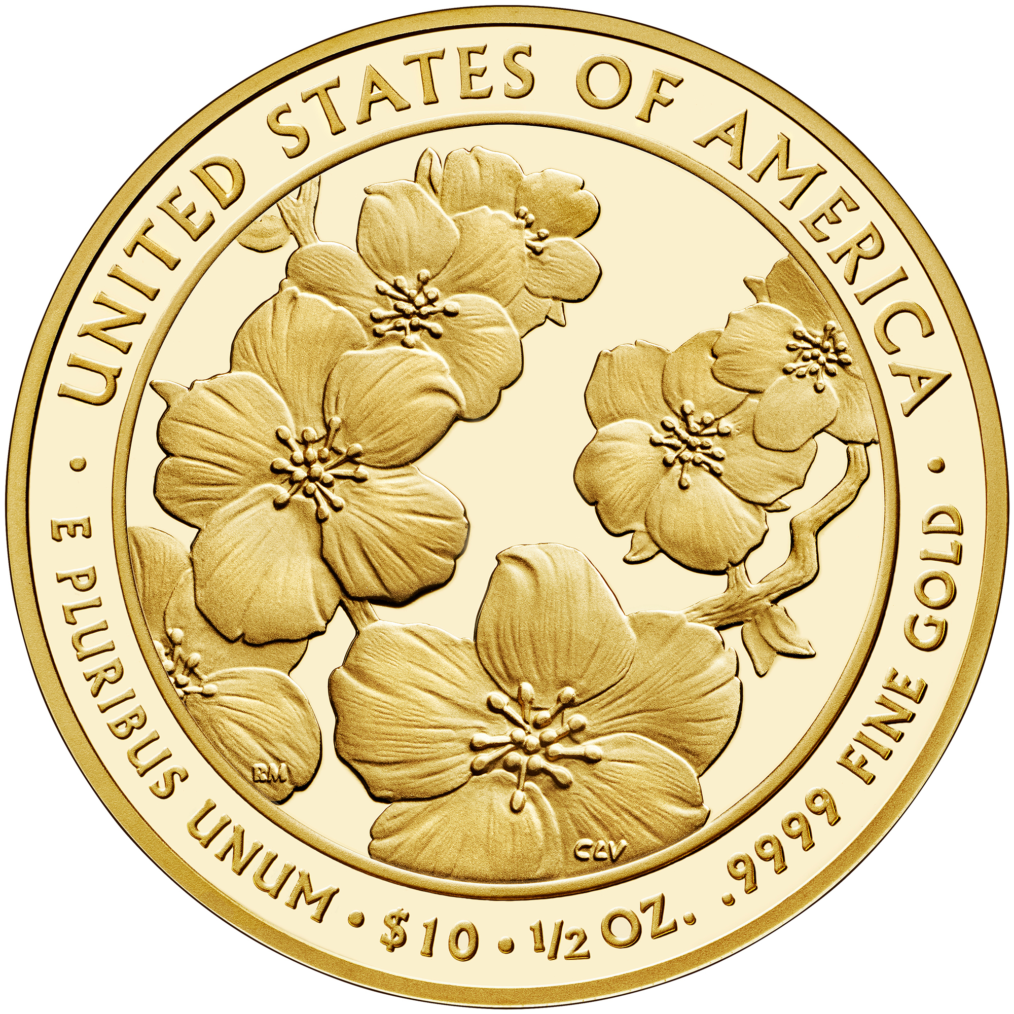 2013 First Spouse Gold Coin Helen Taft Proof Reverse
