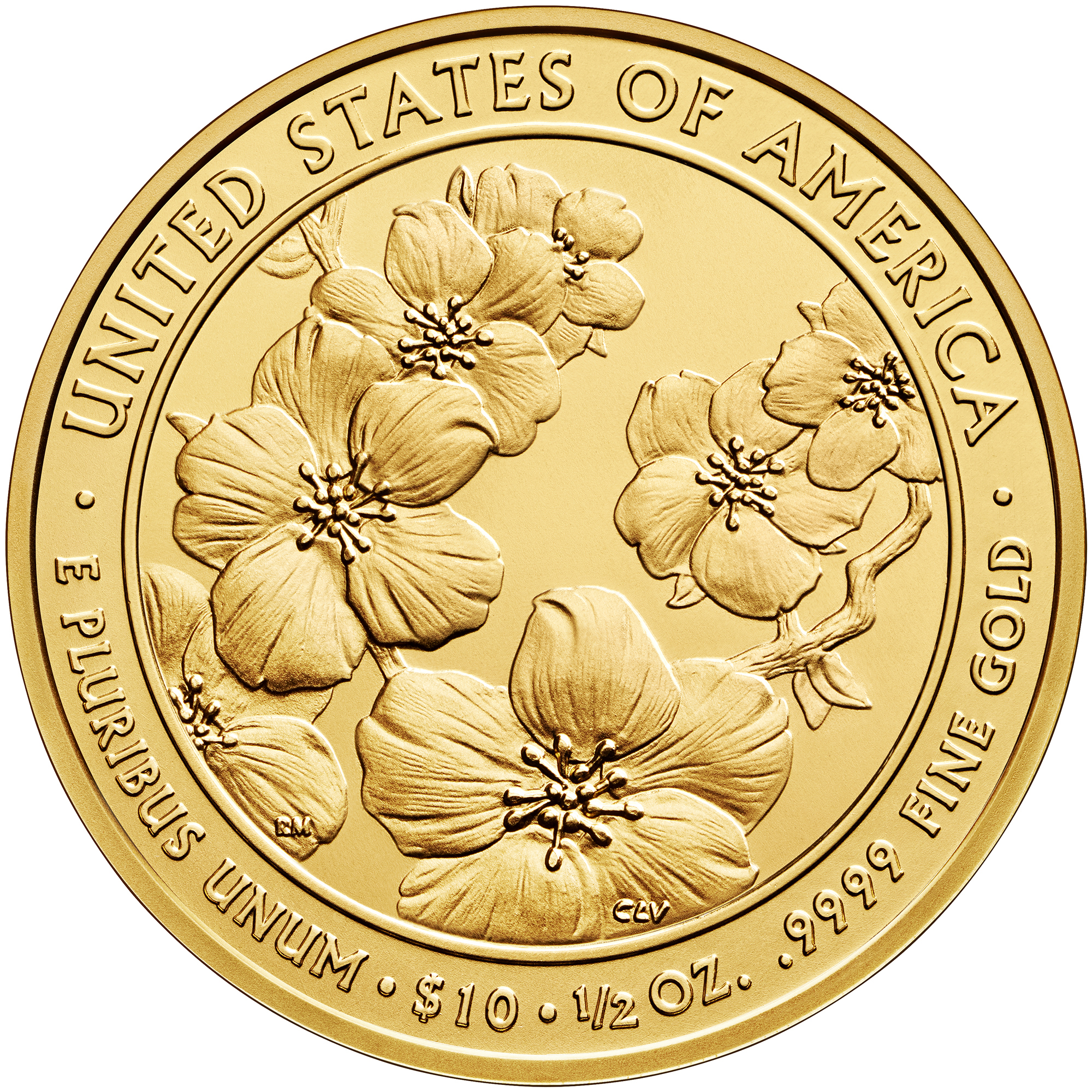 2013 First Spouse Gold Coin Helen Taft Uncirculated Reverse